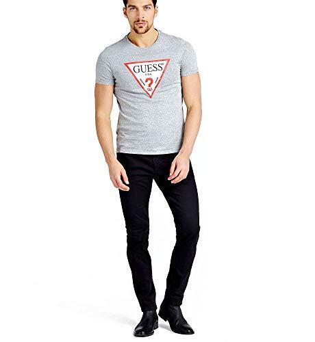 Guess ORIGINAL T-Shirts & Poloshirts Herren Grigio Shgy - XS - T-Shirts