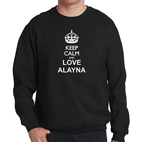 Felpa Keep calm and love Alayna
