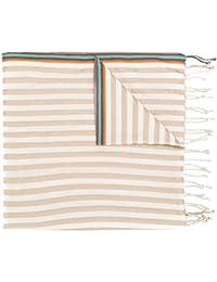 Paul Smith Men's AUXC175ES28162 Beige Cotton Scarf
