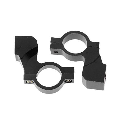huiouer 1 Paar 10 mm Rückspiegelhalter Klemme Motorrad Lenker Adapter 3 Farben