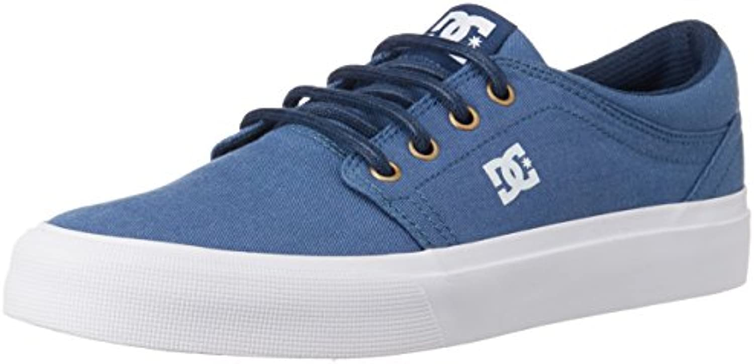 trase tx se - bas bas bas dc chaussures chaussures basses haut chaussures - - hommes - ue 38,5 - bleu bfe4b0