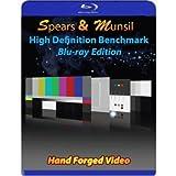 Spears & Munsil High-Definition Benchmark (HD Kalibrierungs blu-ray) Blu-ray Disc Edition. Verschiedene Tools zur Kalibrierung der Qualität von TV und Blu-ray Geräten (Peripherie), blu-ray Spielern und Videoprozessoren
