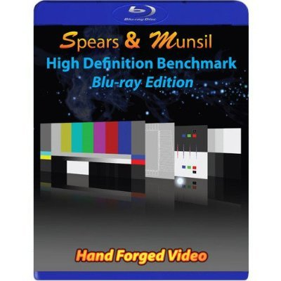 Spears & Munsil High-Definition Benchmark (HD Kalibrierungs blu-ray) Blu-ray Disc Edition. Verschiedene Tools zur Kalibrierung der Qualität von TV und Blu-ray Geräten (Peripherie), blu-ray Spielern und Videoprozessoren Ntsc Pal Hdtv