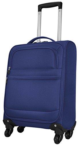 Valise Sicile Bleu Taille M Bagage à main bord bagages kabinentrolley Tissu en nylon 840 D Plastique Valise trolley Case FA. bowatex