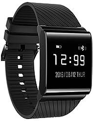 Wallner F9 smart watch Banda intelligente Étanche bluetooth pression artérielle fréquence cardiaque bande intelligente watch watch synchronisation pour Android et IOS téléphone cellulaire
