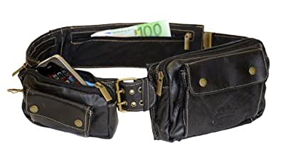 ceinture de voyage multi poches cuir homme compartiment. Black Bedroom Furniture Sets. Home Design Ideas
