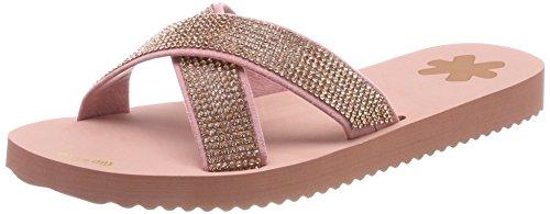 flip*flop Damen Crossglam Sandalen, Pink (Ballet), 39 EU