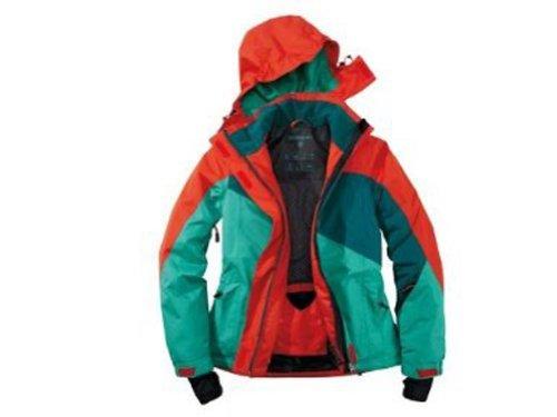 Damen Skijacke Snowboardjacke Grösse 44 grün rot