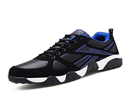 Males Sports Shoes Otoño Invierno Para Correr Leisure Light Transpirable Cosy Shoe Blue