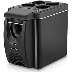 yizhi2325 Réfrigérateur de Voiture, Mini congélateur et réchaud à congélateur Portable, glacière électrique, pour la Maison, Le Bureau, la Voiture, Un dortoir ou Un Pique-Nique en Plein air