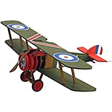 ARTESANÍA LATINA Kit de modelo de madera para niños +8: Sopwith Camel Plane