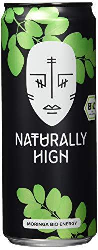 Naturally High Bio Moringa Energy Drink, 12er Pack, EINWEG (12 x 330)