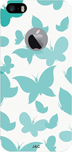 J & C Cases Designer Printed Back Replacement Cover for Apple_iPhone 5s_439