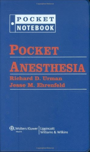 Pocket Anesthesia (Pocket Notebook Series) (2009-06-02)