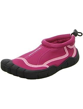 BOCKSTIEGEL® LANGEOOG Zapatos Aguamarina (28-35 Niños 2 Diseños Neopreno), Couleur:fuchsia;Taille:31