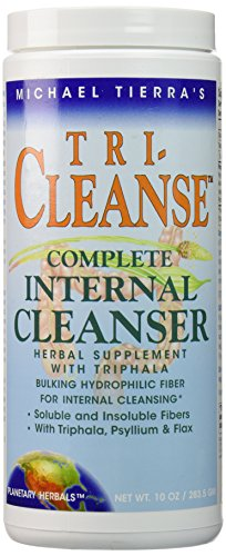 Planetary Herbals, Tri-Cleanse, Complete Internal Cleanser, 10oz (283.5g) mit Psyllium, Triphala, Guargummi (1g-container)
