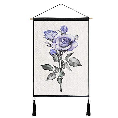 lsaiyy Tinte dekorative Tapisserie Hintergrund Wandbehang Tuch