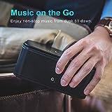 DOSS SoundBox- Touch Kabellose Portabler Bluetooth Lautsprecher mit unglaublicher 12-Stunden Spielzeit & Sensitive-Touch Wireless 12W Speakers mit TF Karte Funktion und Reinem Bass - 4