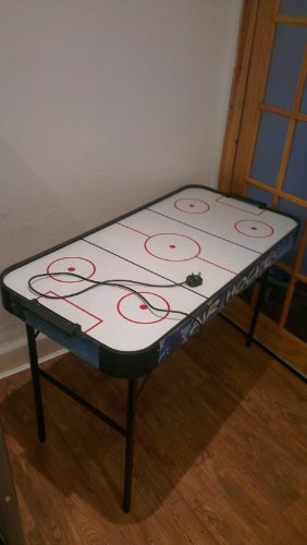 Charles Bentley 4Ft Air Hockey Indoor Sports Gaming Table