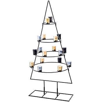metallstand tanne teelichthalter weihnachtsbaum 127. Black Bedroom Furniture Sets. Home Design Ideas