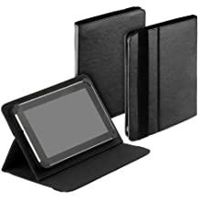 yayago Tablet Book-Style Tasche mit Standfunktion - Ultra Flach - für Amazon Kindle Fire HDX 8.9 / Blaupunkt Endeavour 1000 / Odys Noon / Jay-tech Multimedia-Tablet-PC 9000 / PA1010DA / Asus MeMo Pad Full HD 10