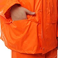 BALALA BIAN Adult split raincoat reflective outdoor Portable Waterproof RaincoatWaterproof Rain Poncho Rain Coat Lightweight And Portable