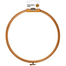 Creations 10-Inch Wooden Embroidery Hoop