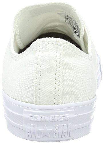Converse Chuck Taylor All Star, Baskets Basses Mixte Adulte Blanc (White)