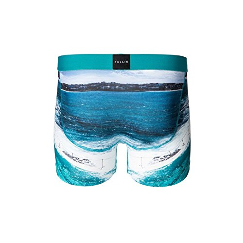 Pull-In Boxer-Shorts Masuni Schwarz-weiß Bondi