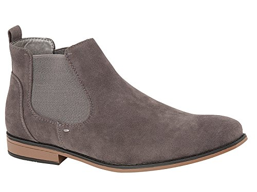 Mens Kanye Charles Southwell Faux Suede Chelsea Gusset Italian Style Fashion Dealer...