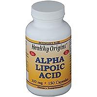Healthy Origins, Alpha-Liponsäure, 300 mg, 150 Kapseln preisvergleich bei billige-tabletten.eu