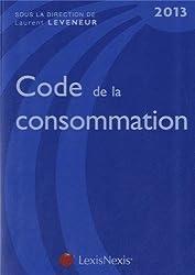 Code de la consommation 2013