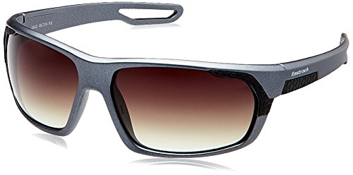 Fastrack Gradient Sport Men's Sunglasses - (P332BR2|Brown Color)  available at amazon for Rs.1441