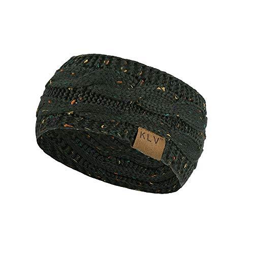 Imagen de bhydry hombres mujeres pelota de pelo tejer diadema elástica hecha a mano deporte banda para el cabello turbante
