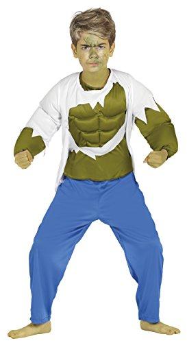 Guirca-Kostüm 7-9Jahre Strongman Superheld U - Superheroe Kostüm