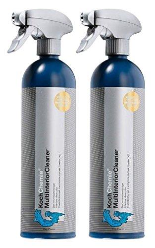 Koch Chemie 2x Multi Interior Cleaner Innenraumreiniger Polsterreiniger 750 ml (Interior Cleaner Leder)