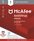 McAfee Antivirus Plus - 1 User, 3 Years (Email Delivery in 2 hours- No CD)