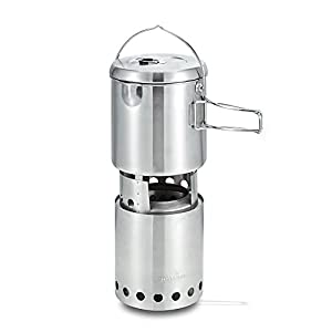 41Q6tydcT1L. SS300  - Solo Stove Titan & Solo Pot 1800 Camp Stove Combo: Woodburning Backpacking Stove Great for Camping and Survival