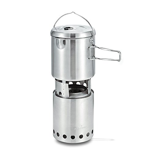 41Q6tydcT1L. SS500  - Solo Stove Titan & Solo Pot 1800 Camp Stove Combo: Woodburning Backpacking Stove Great for Camping and Survival