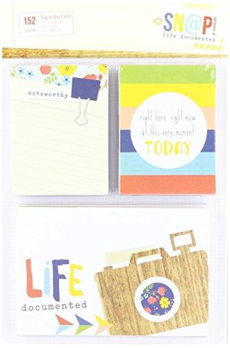 Unbekannt Simple Stories Papier Snap Life Dokumentiert Karten 152kg-Everyday