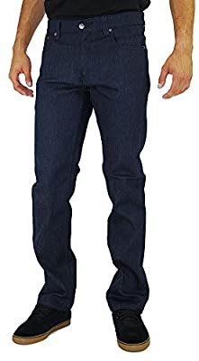 Kayden K Men's Skinny Jean Timber Black