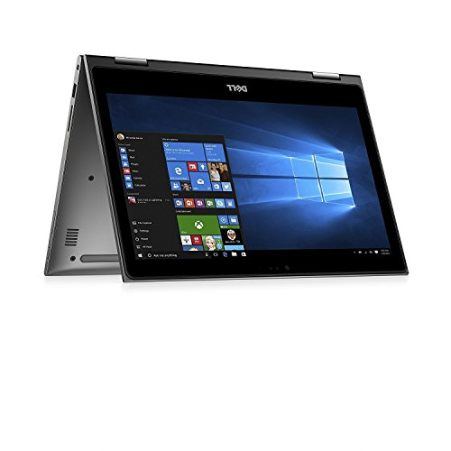 2017 Model Dell Inspiron 2-in-1 13.3-inch Touch IPS FHD 1080p Laptop PC, Intel Core i5-7200U, 8GB DDR4 SDRAM, 256GB SSD, Bluetooth, Backlit Keyboard, up to 8h Battery Life, Windows 10 image