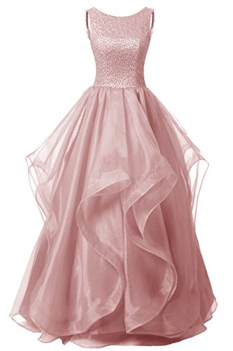 dresstells-long-prom-dress-asymmetric-bridesmaid-dress-beaded-organza-gown