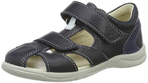 RICOSTA Jungen Kaspi Geschlossene Sandalen, Blau (Nautic 175), 25 EU
