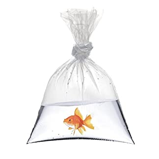 """18"""" x 36"""" Fish Bags Watertight Transport Polythene bags 200 Guage Quality Koi Marines Discus Corals Different Quantities (5) 7"""