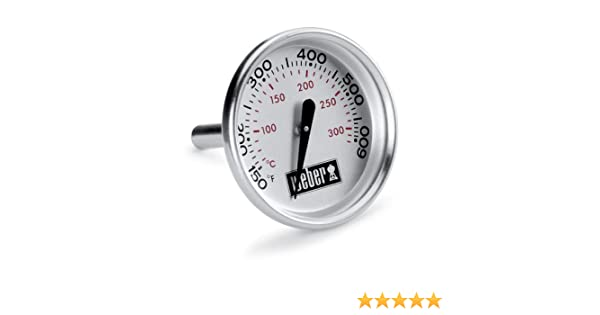 Weber Elektrogrill Mit Thermometer : Weber ersatzteil deckelthermometer q bis nr amazon