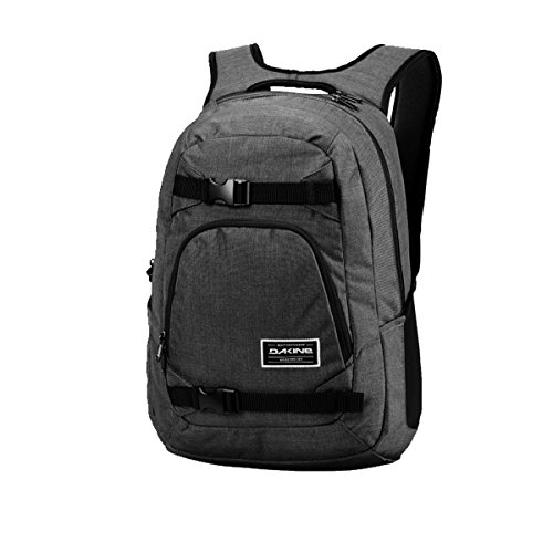 Dakine Explorer Cartable, 50 cm, 26 litres, Gris (Carbone)