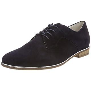 Gabor Shoes Damen Comfort Sport Derbys, Blau (Atlantiksdes./Met), 39 EU