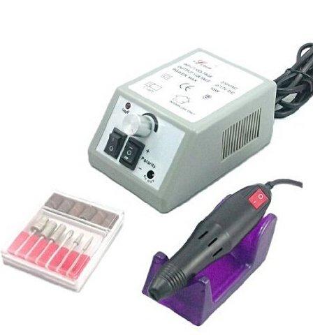 Lychee MM-2000 Ponceuse Electrique d'Ongle Manucure Electrique Professionnel - EU Plug