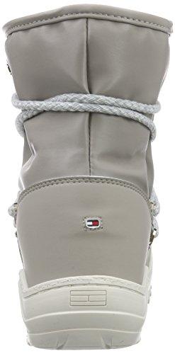Tommy Hilfiger W1285anda 1d1, Boots à doublure chaude femme Gris - Grau (STEEL GREY/WHITE 039)